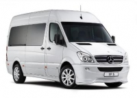 CHAUFFER DRIVEN LUXURY MERCEDES VAN